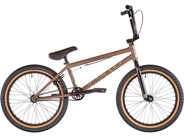 Kink BMX Launch matte truffle brown